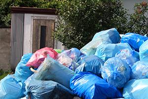 個人宅のゴミ回収
